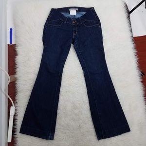 J Brand Mama J Maternity Jeans Sz 27 Blue A5